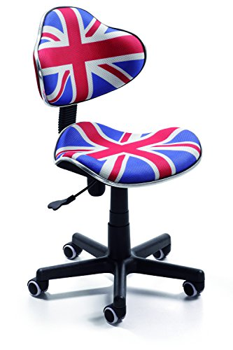 Silla de oficina juvenil, color british
