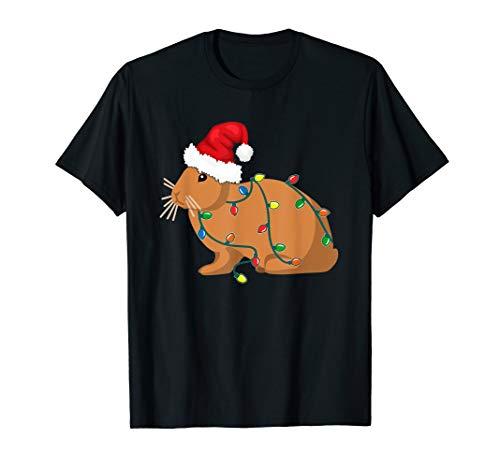 Bunny Christmas Light Shirt Funny Bunny Lover TShirt