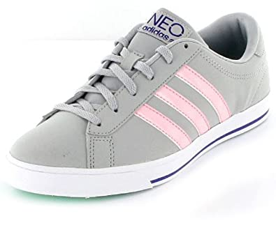 buy popular 3bc41 484f6 adidas neo damen grau rosa neue