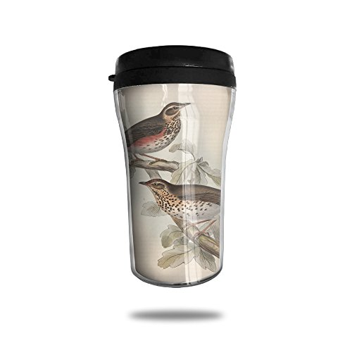 Bluebird Wall Insulated Travel Mug For Hot Or Cold Drinks