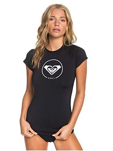 Roxy Damen S/sl Surf Tee Beach Classics - Rashguard mit UPF 50 und Flügelärmeln für Frauen