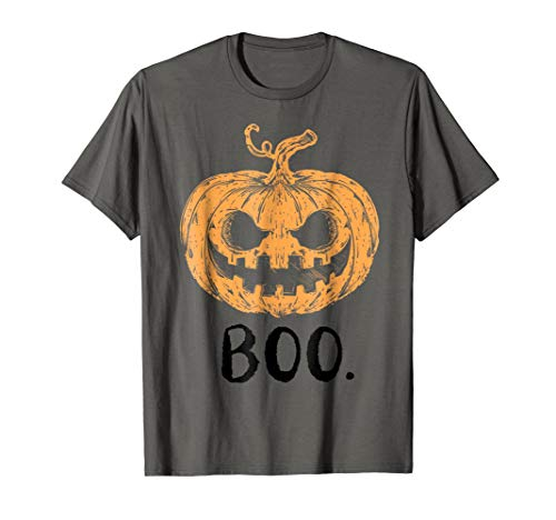 Scary Pumpkin October 31st Halloween Holiday TShirt