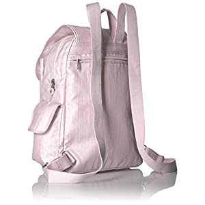 Kipling Women's Ravier Medium Solid Backpack, Whimsical Pink