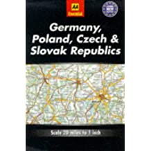 Essential Road Map Germany, Poland, Czech and Slovak Republics