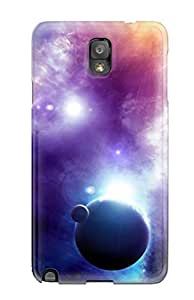 New Fashion Premium Tpu Case Cover For Iphone 5/5S Case Cover - Neon Colors In Space