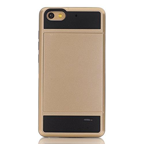 Huawei Honor 4C Funda, adorehouse Billetera Estuche Case [Anti Scratch] [Heavy Duty] [Ranura para tarjetas] Dual Layer Hybrid Rubber Bumper Funda protectora para Huawei Honor 4C (Menta Verde) Menta Verde