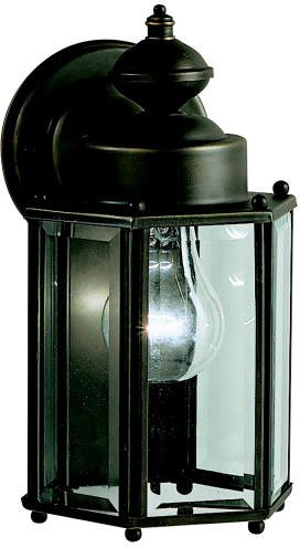 Kichler 9618OZ Patio Wall Sconce Lantern Outdoor Lighting, Bronze 1-Light (6