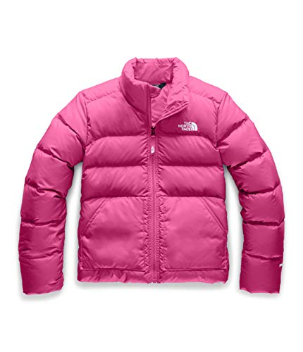The North Face Girls' Andes Down Jacket, Mr. Pink, XS