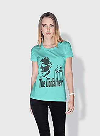 Creo The Godfather Movie Posters T-Shirts For Women - Xl, Green