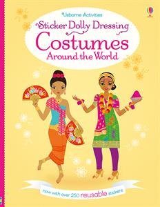 Sticker Dolly Dressing Costumes Around the World (Revised - Reusable) ()
