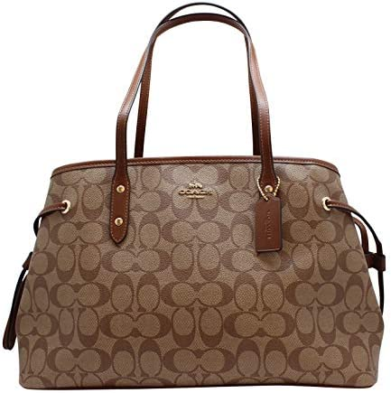 Coach Womens shoulder F57842 Khaki product image