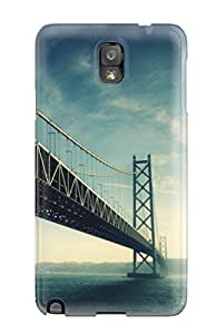 ZuKQFIE2028nHszI Snap On Case Cover Skin For Galaxy Note 3(long Bridge Iphone 5)