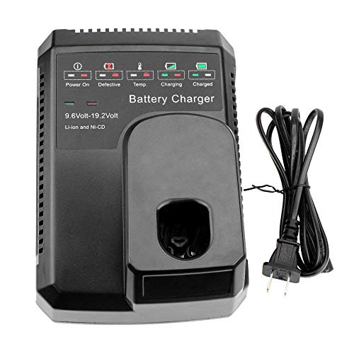 Replace Craftsman Charger for Craftsman C3 DieHard XCP battery 9.6V-19.2V Ni-cad Ni-Mh and Lithium 140152004 1425301 1323903 130279005 11375 11376 315.PP2011