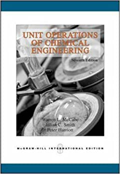 Book Unit Operations of Chemical Engineering (Int'l Ed) (College Ie (Reprints))