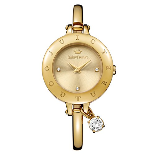 [Juicy Couture Women's 'Melrose' Quartz Tone and Gold-Plated Casual Watch(Model: 1901432)] (Movado Bangle Watch)