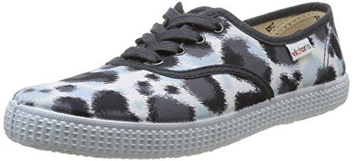 Victoria Inglesa Estamp Huella Tigre - Zapatillas de deporte Mujer gris - gris