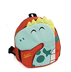 Toddler Dinosaur Backpack for Kids with Leash | Dino Baby Bag |Boys or Girls | Bookbag | Lunch Bag | Safety Harness |