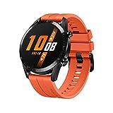 HUAWEI Watch GT 2(46mm) Reloj Inteligente, 2 Weeks Battery Life, GPS, 15 Sport Modes, 3D Glass Screen, Bluetooth Calling Smartwatch - Naranja