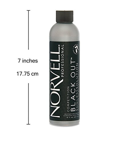 Norvell Premium Sunless Tanning Solution - Competition Black Out, 8 fl.oz. by Norvell (Image #4)