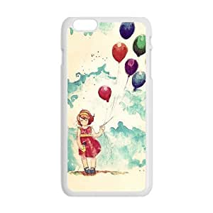 Balloon Girl Case Cover for Personalized Case for Personalized iphone 6 (Laser Technology) Screen iPhone Strong Protect Case-04
