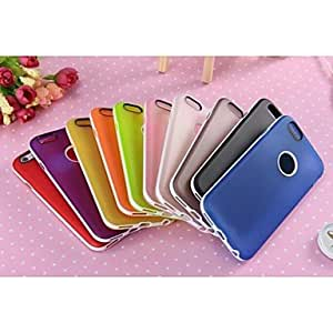 LCJ TPU and Plastic Single Box Mixed Color for iPhone 6 (Assorted Colors) , Black