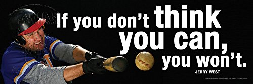 Baseball Motivational Laminated Sports Poster 12