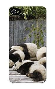 Crooningrose Brand New Defender Case For Iphone 5/5s (panda Bears ) / Christmas's Gift