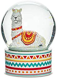 Abbott Collection Home 27-KITSCH-WB-161 Abbott Collection Resting Llama Small Water Globe