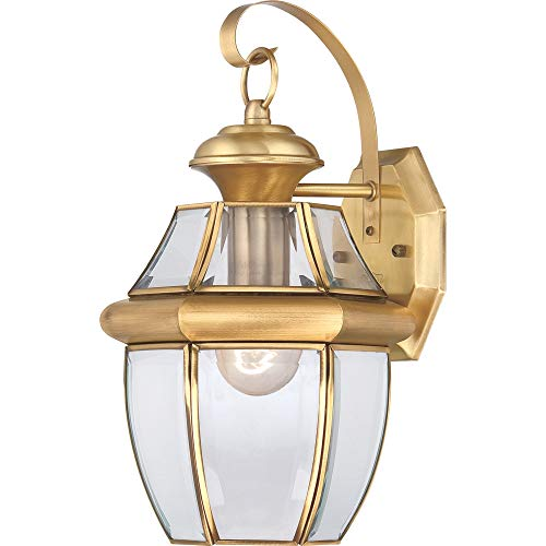 Outdoor Wall Light Polished Brass in US - 2