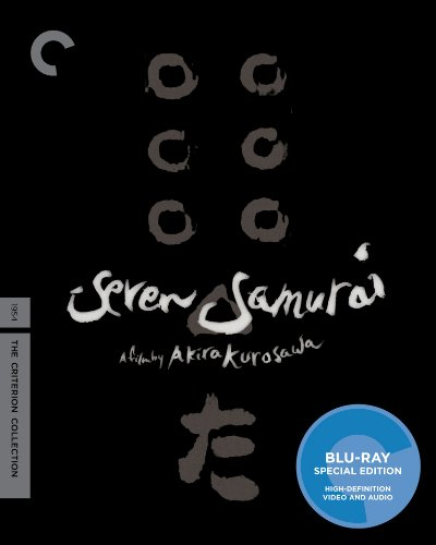 Blu-ray : Seven Samurai (Criterion Collection) (Black & White, Special Edition, Full Frame, , 2 Disc)