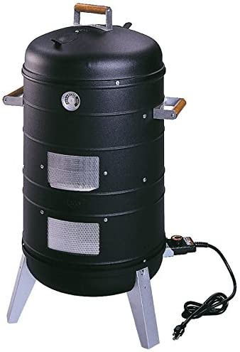 Americana-2 in-1-Electric-Water-Smoker-that-converts-into-a-Lock-'N-Go-Grill