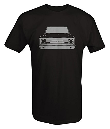 Stealth - 1967-72 Chevy GMC Classic Lowered Pickup Truck C10 C20 Cheyenne T shirt - 2XL
