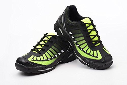 Embout Acier Sécurité Travail Vert Tqgold® Chaussures Protection Noir Avec Homme Chaussure Z De Femme En Axwx8Pa