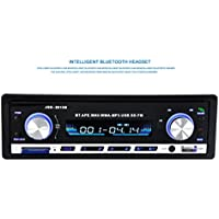 Lary intel Bluetooth Car Stereo Audio CD In-Dash FM Aux Input Receiver SD USB MP3 Radio