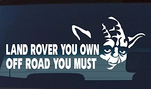 Land Rover 4X4 Discovery Series Funny Vinyl Sticker