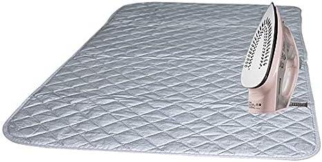 Freeby Ironing Blanket Mat Foldable Portable Magnetic Pad Laundry Mat Cotton Ironing Ironing Pad 48/×85cm