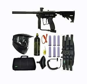 Spyder MR1 Tactical Paintball Marker Gun SNIPER SET-Black