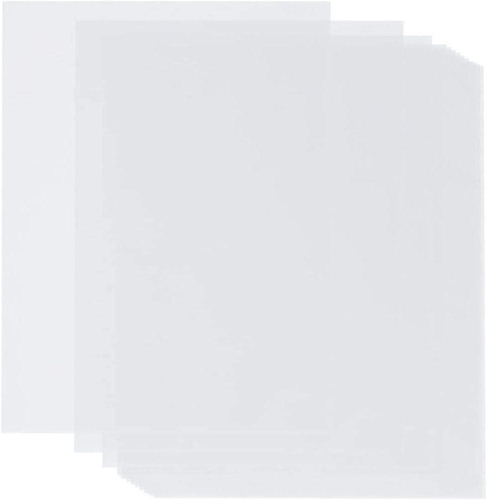 Translucent Vellum Paper (8.5 x 11 in, 100 Sheets)