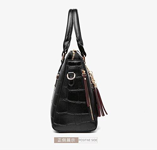 Nuevas Bolsas Casual Hombro Gwqgz Modas Señoras Brown Bolsos Black De Bromeando dqtrtSx