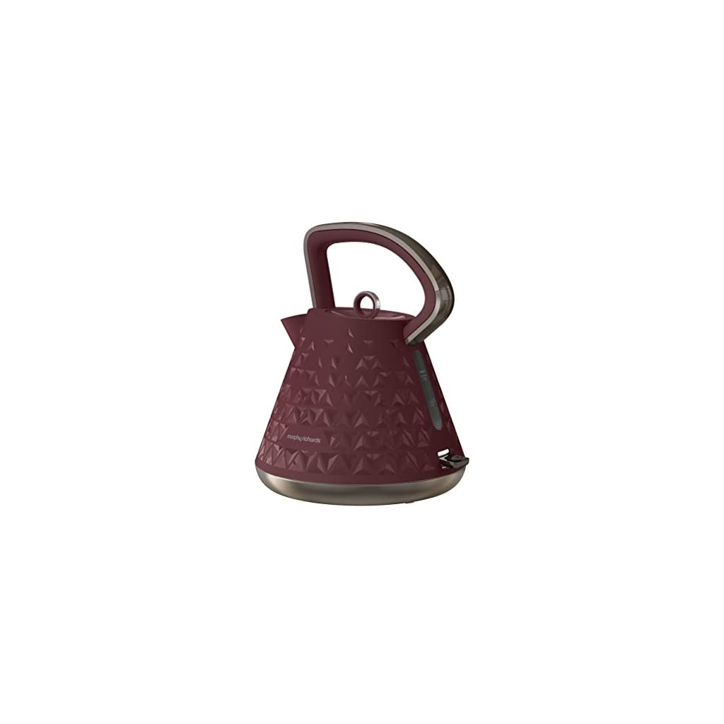 Morphy Richards 108103 Prism Kettle - Merlot