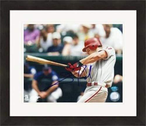 - Scott Rolen autographed 8x10 Photo (Philadelphia Phillies) #1 Matted & Framed