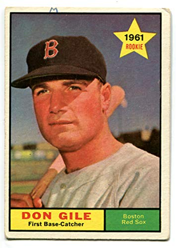 Topps 1961 Don Gile Rookie Card #236 Boston Red Sox Boston Red Sox Frank