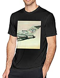 Mens Beastie Boys Licensed to Ill Leisure Party Black Short Sleeve Shirts