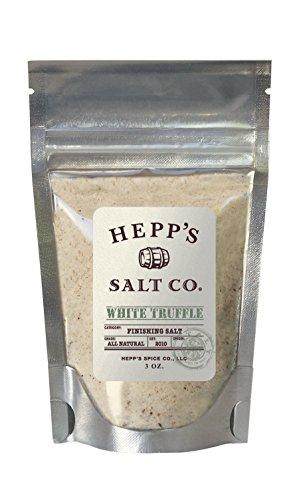 Hepp's Salt Co, Gourmet White Truffle Finishing Sea Salt, 3.5 oz by Hepp's Salt Co.