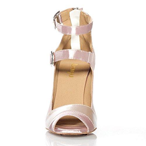 Minitoo ,  Damen Tanzschuhe , beige - beige - Größe: 36