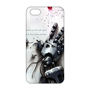 Slim Thin 3D Cartoon Broken Robots For HTC One M9 Phone Case Cover