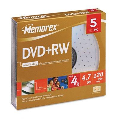 MEM05514 - Memorex DVDRW Discs