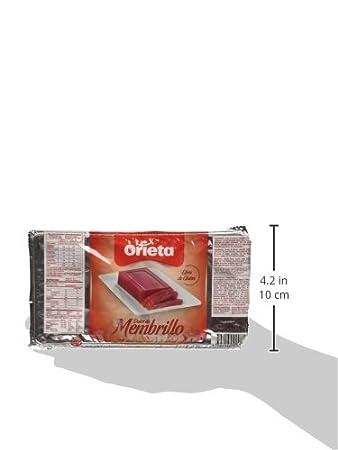Amazon.com : Orieta Dulce de Membrillo 500 Gr : Jams And Preserves : Grocery & Gourmet Food