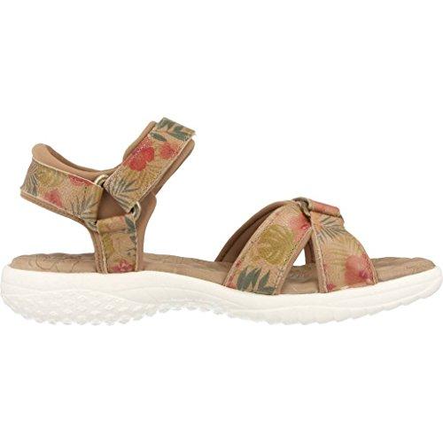 Sandalias y chanclas para mujer, color marr�n , marca PANAMA JACK, modelo Sandalias Y Chanclas Para Mujer PANAMA JACK NOJA TROPICAL B2 Marr�n marr�n