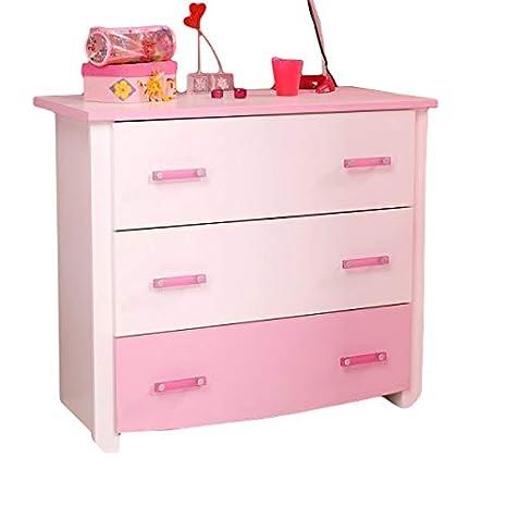 Kommode weiß rosa Mädchen Kinderzimmer Jugendzimmer Anrichte ...